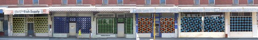 Shopfront artist Central