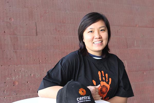 Student ambassador Chia Lee Khoo
