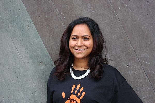 Student ambassador Carine Vydeenaden