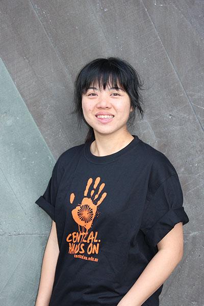 Student ambassador Juihua (Ruby) Hsiung