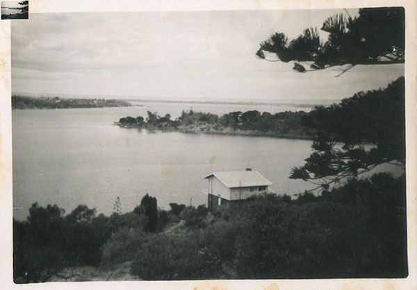 Tony's childhood home at Chidley Point