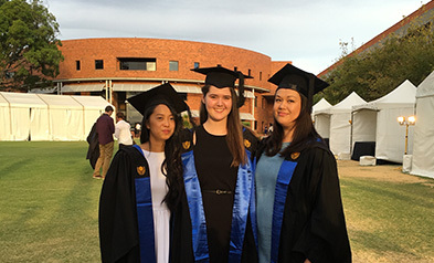 Graduates reflect on learning pathway