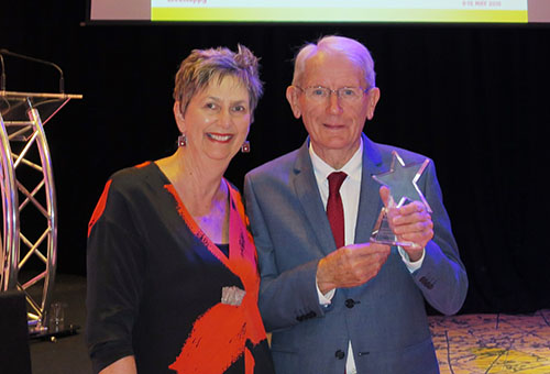 Lifetime Award for a Lifetime of Volunteering