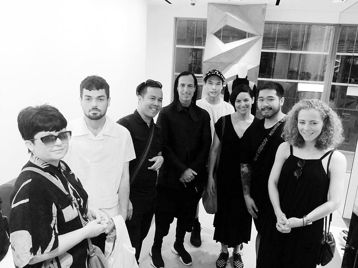 Students rub shoulders with the world's finest inFashion